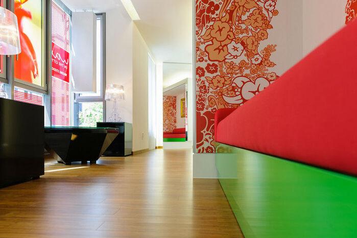 Beispiel: Studio, Foto: Wax in the City Augsburg.