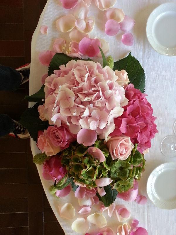 per una tavolo degli sposi .....a balconcino