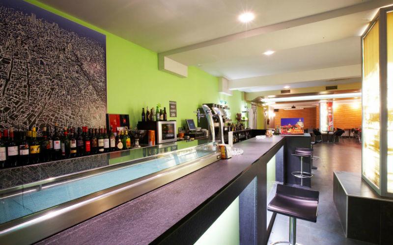 Cafetería del Hotel Rey Don Sancho