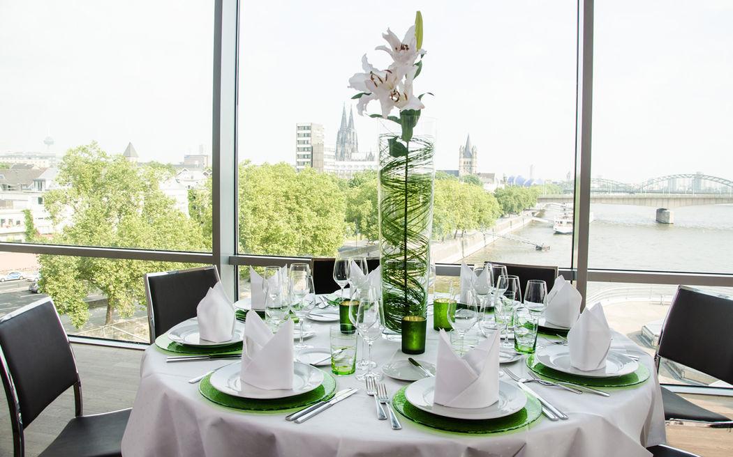 Beispiel: Hochzeitstafel, Foto: Schokoladenmuseum.