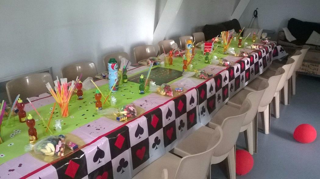 Manoir Le Louis XXI...salle des enfants