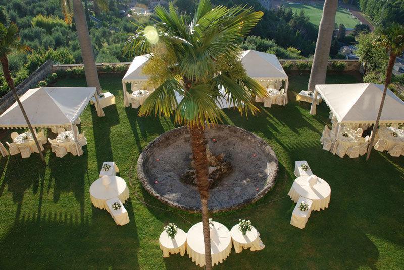 Park Hotel Villa Grazioli: Vista del giardino pensile dall'alto