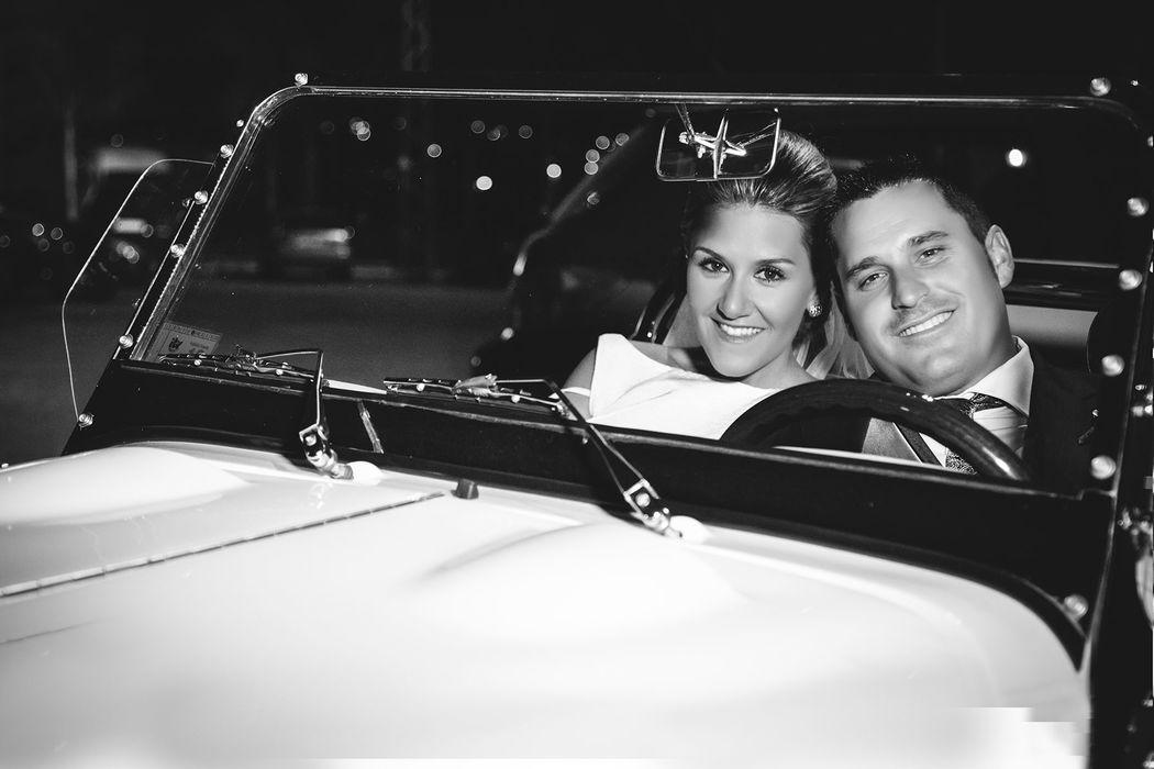 Fotografía en coche antiguo - OhQueFoto