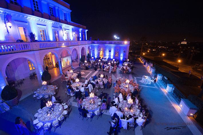 Wedding Party a Villa Miani. Roberta Torresan Wedding Planner & Designer, Roma