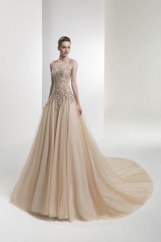 Atelier Silvana - abito sposa champagne
