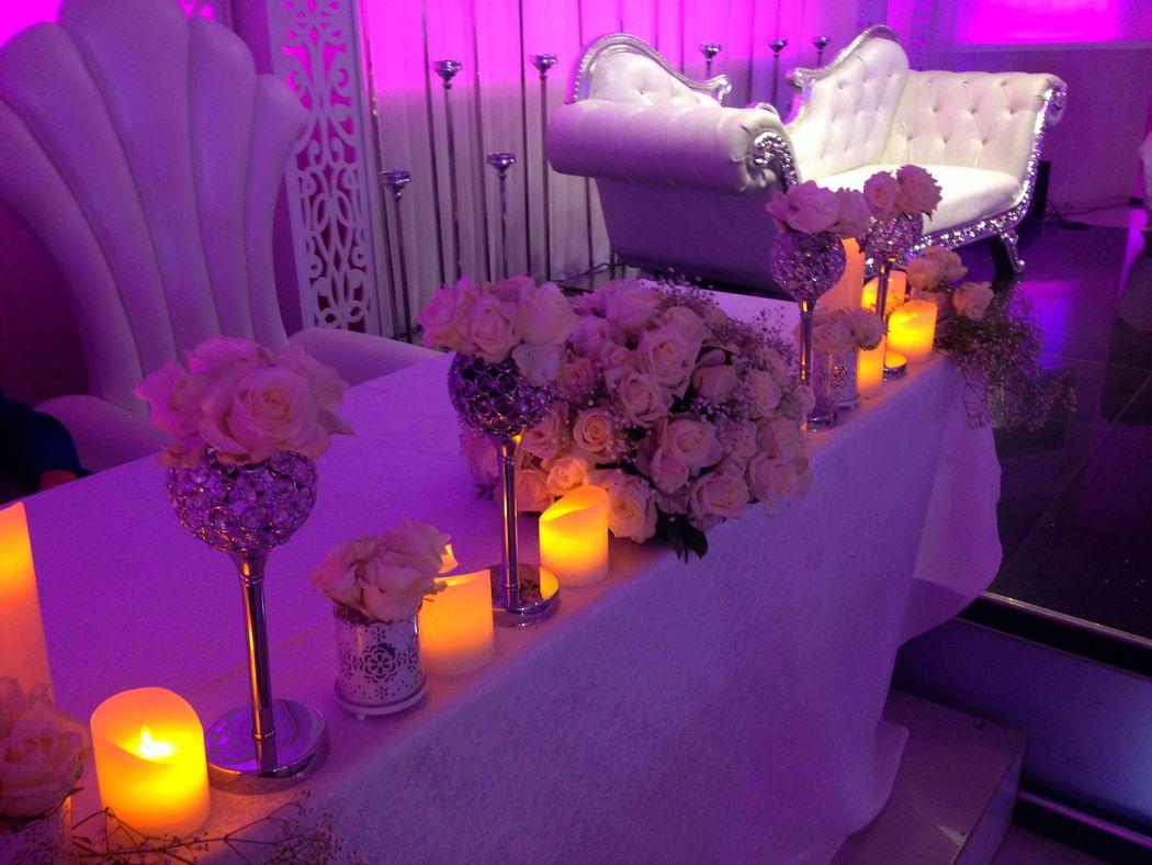 table mariés
