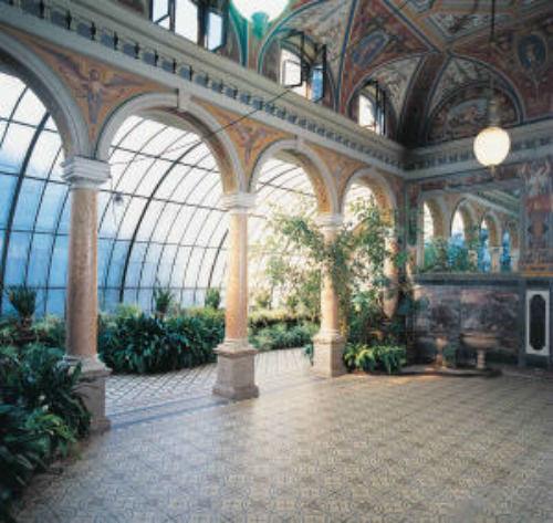 Beispiel: Wintergarten, Foto: Thurn und Taxis Schloss St. Emmeram.