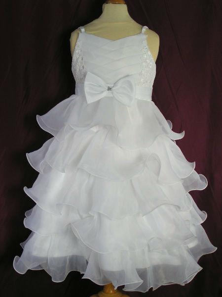 Robe pour mariage, baptême du 2 ans au 12 ans