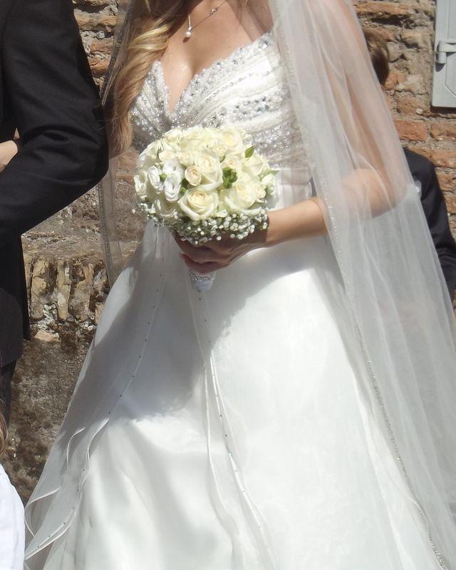 bouquet bianco e avorio