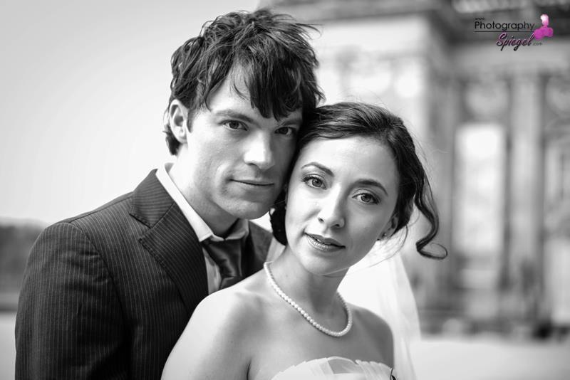Beispiel: Portrait des Brautpaares, Foto: Photography Spiegel.