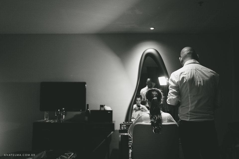 Ana Telma - Casamento: Paula e Marcelo - Making of - Hotel Fasano - RJ