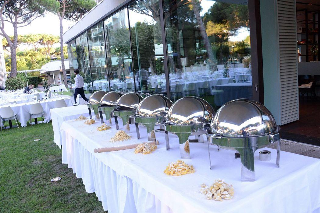 MarePineta  Resort - Particolare Buffet