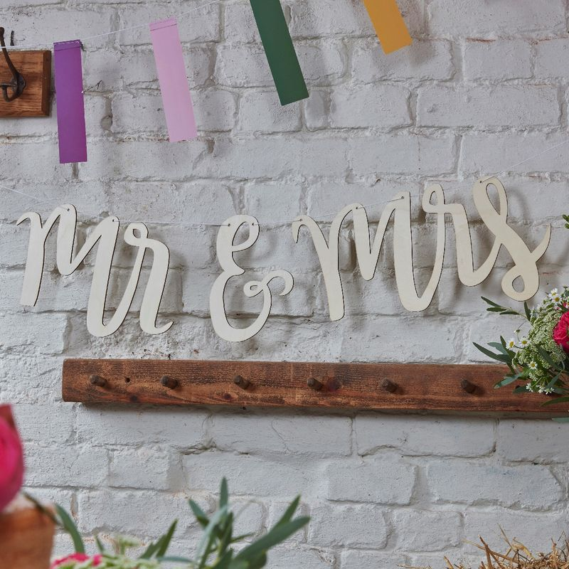 Decorazioni Mr & Mrs