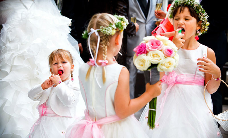 Beispiel: Fotos von der Hochzeitsgesellschaft, Foto: raman weddings.