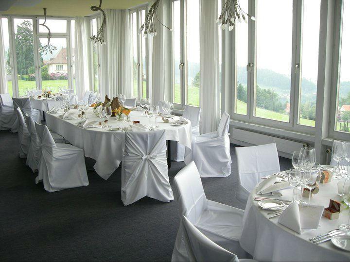 Beispiel: Bankett im Panoramasaal, Foto: Hotel Heiden.