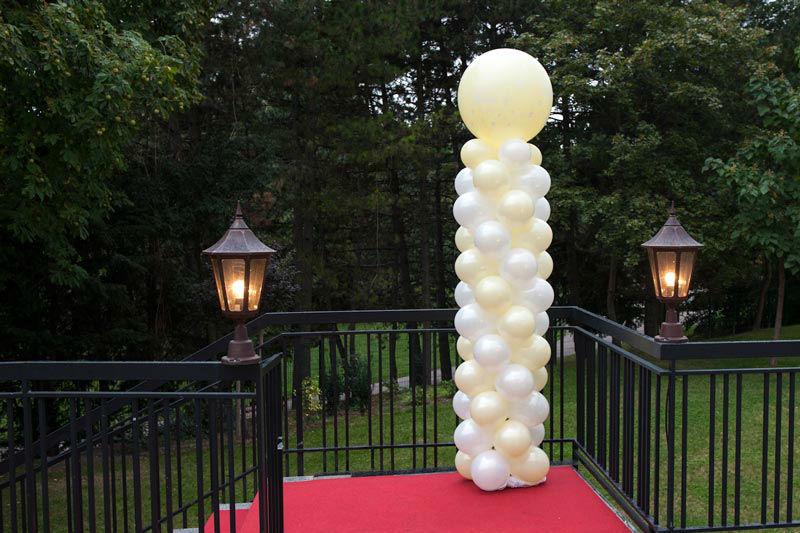 Beispiel: Verschönern Sie Ihr Hochzeitsfest, Foto: Ballons & Ballons.