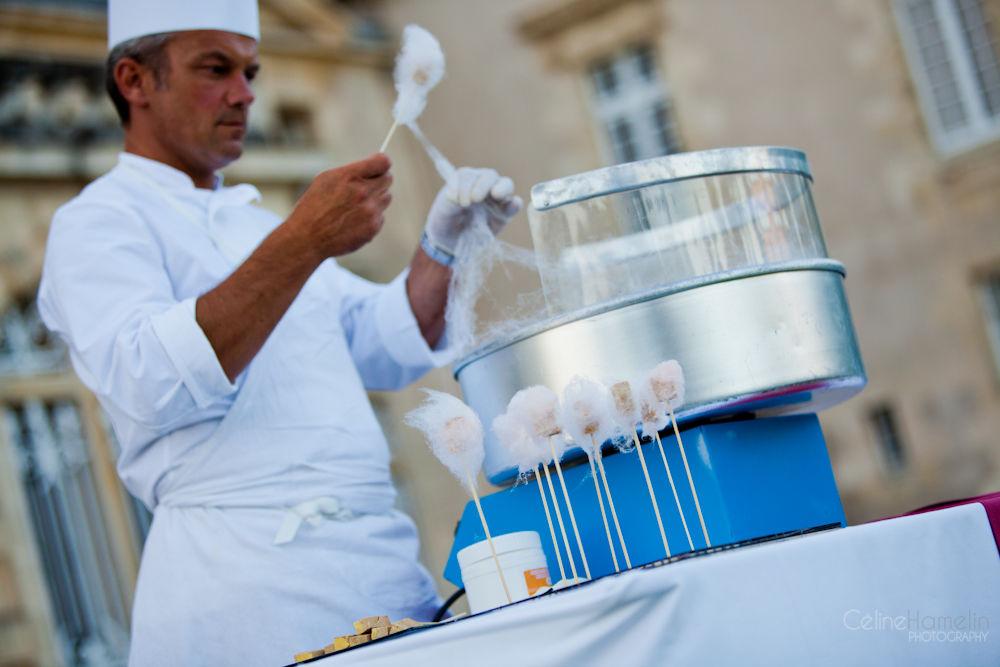 Atelier barbe à papa au foie gras