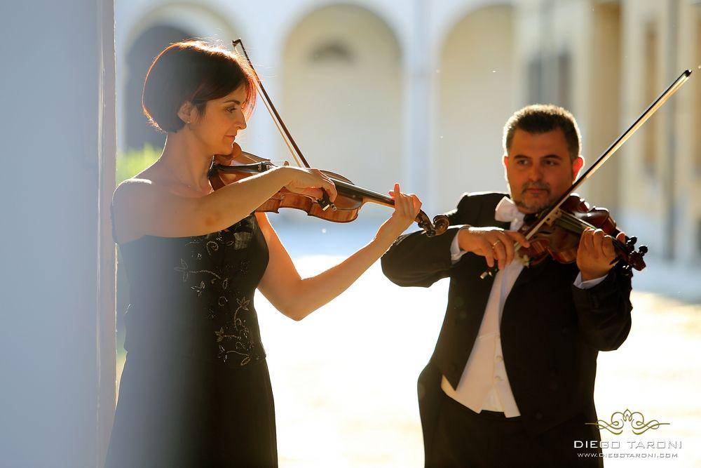Duo di violini per cerimonie nuziali e ricevimenti