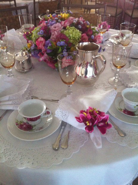Mesa de Chá da AMR