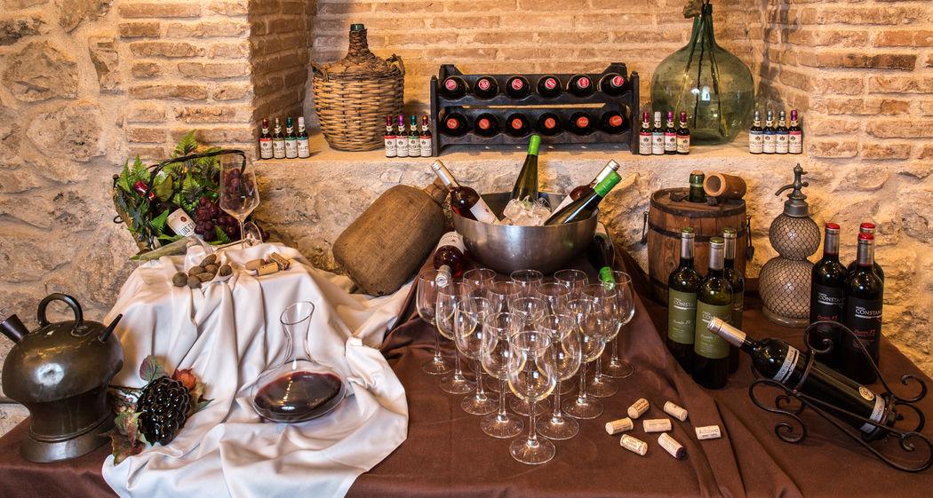 Cocktail. Barra de vinos