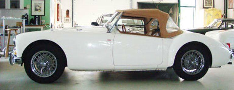 Beispiel: MG-A 1500, Foto: Roadster Reise Träume.