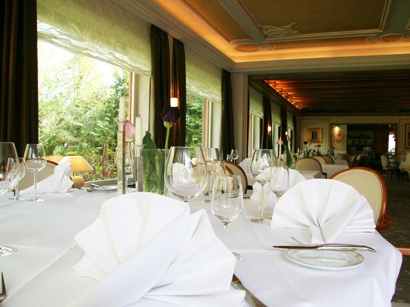 Beispiel: Tischdekoration, Foto: Parkhotel Krone Maleck.