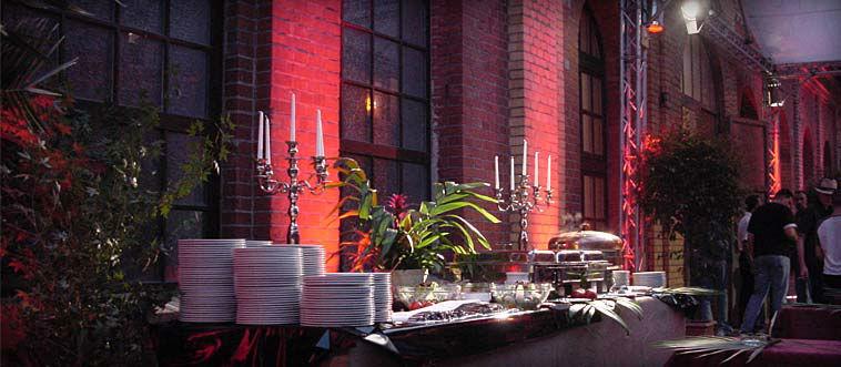 Beispiel: Festliches Catering für Ihre Hochzeit, Foto: Das exklusive Buffet.