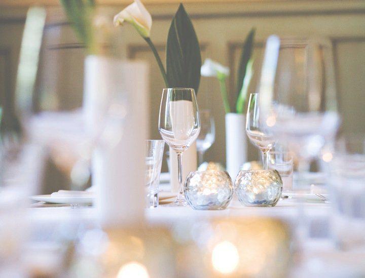 Beispiel: Tischdekoration, Foto: Ole Liese.