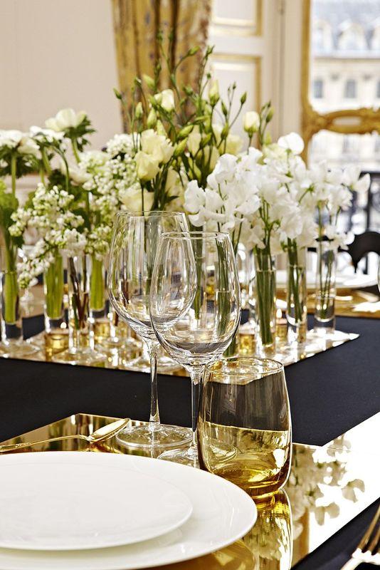 Arts de la table élégants - Saint Clair le Traiteur