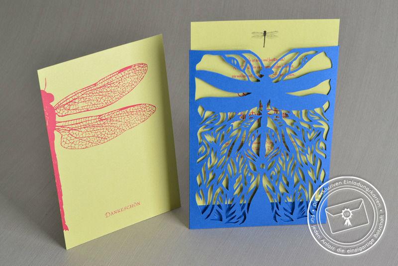 Beispiel: Personalisierte Hochzeitskarten, Foto: Die exklusiven Einladungskarten.