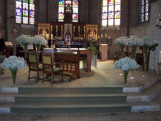 Beispiel: Blumen für die Zeremonie, Foto: Green Creation StyleStore.