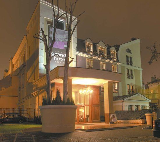 Sala weselna Grand Hotelu w Rzeszowie