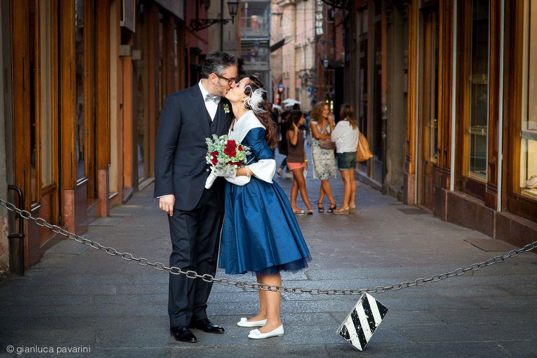 Gianluca Pavarini Fotografia - Matrimonio vintage a Bologna, centro storico