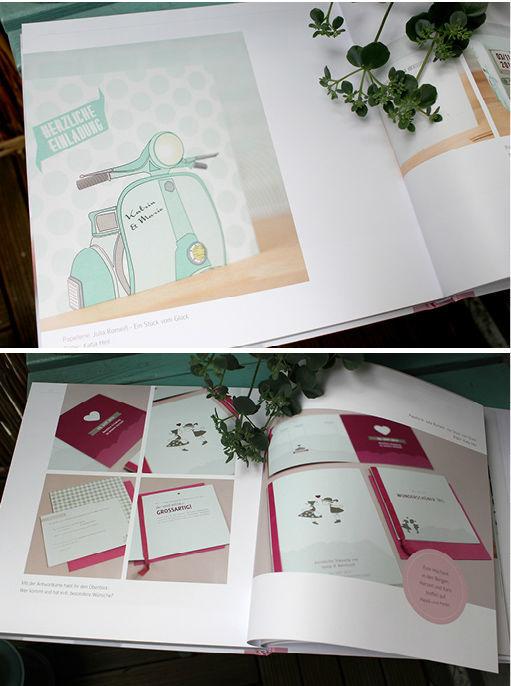 Beispiel: Wählen Sie aus Vorlagen oder lassen Sie Ihre persönlichen Einladungen entwerfen, Foto: Ein Stück vom Glück.