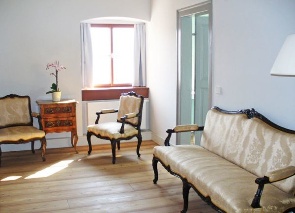 Beispiel: Suite, Foto: Schloss Ettersburg.