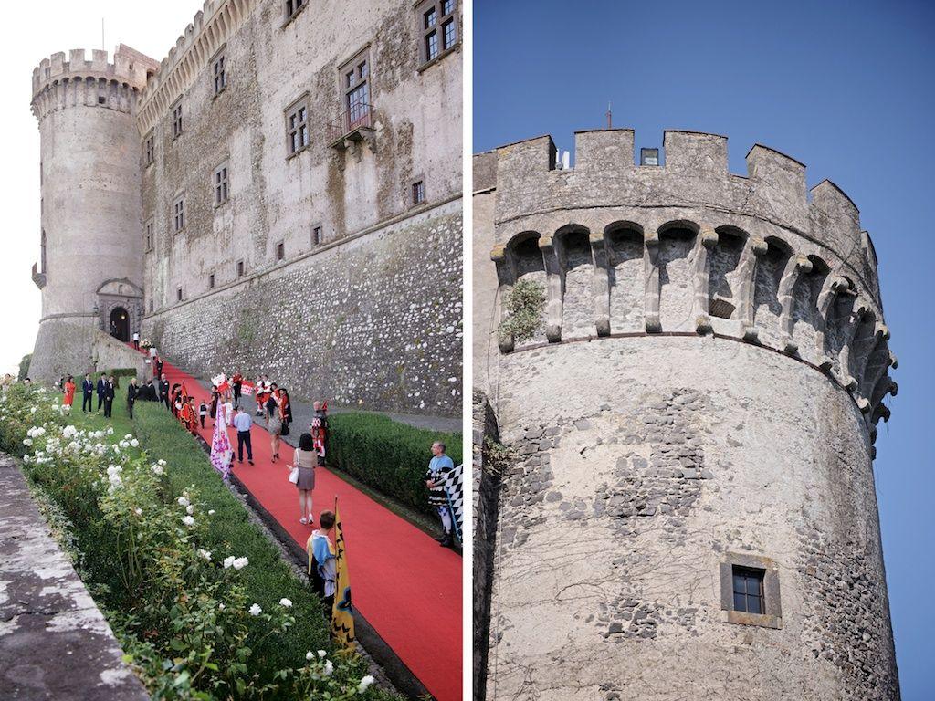 Castello Odescalchi di Bracciano Entrata principale - Main Entrance