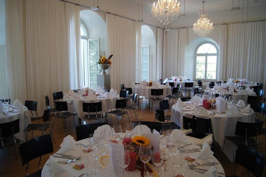 Beispiel: Hochzeisdekoration, Foto: Schloss Wartensee.