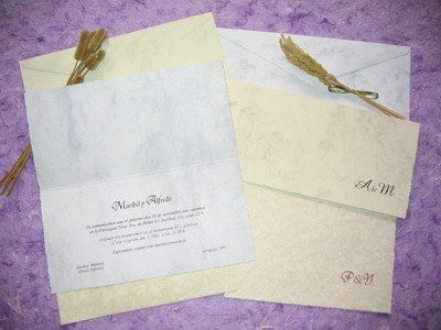 La Cigüeña de Papel - Invitaciones
