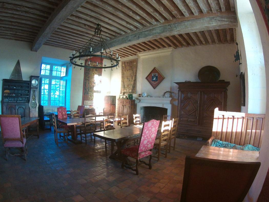 salle à manger chateau