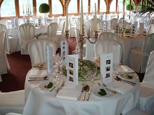 Beispiel: Tischdekoration, Foto: Halbinsel Au.