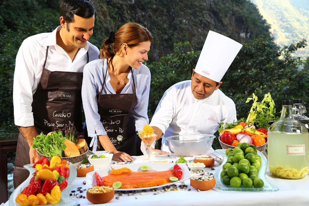 Demostración culinaria - Ceviche de trucha al estilo Sumaq