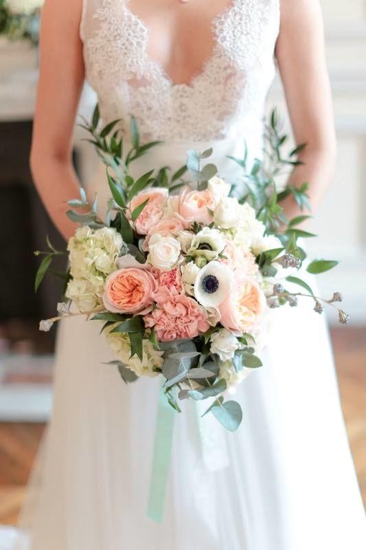 Bouquet de mariée Nude