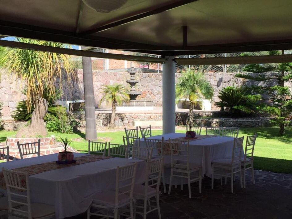 Jardín de eventos ISAMAR