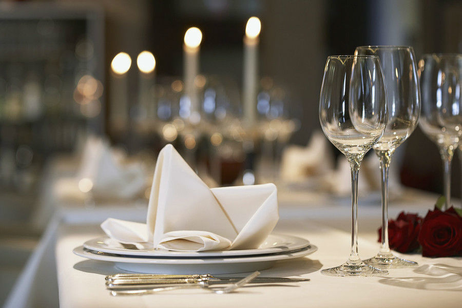 Beispiel: Tischdekoration, Foto: Villa Manskopf.