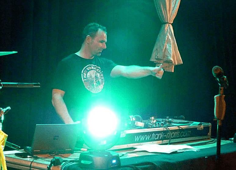 Beispiel: DJ Frank Morris, Foto: DJ Frank Morris.