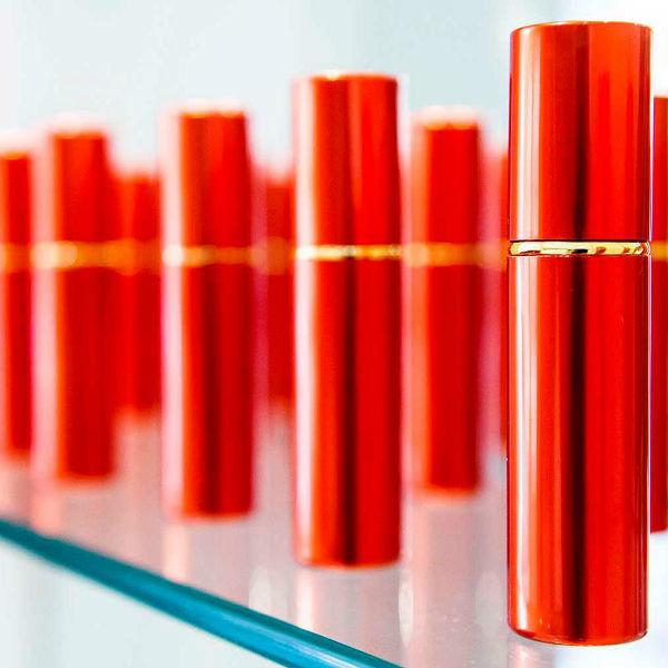 Frascos de perfume de lembrança: fragrância de pele ou ambiente exclusiva  Cor Prata, Dourado, Preto ou Vermelho