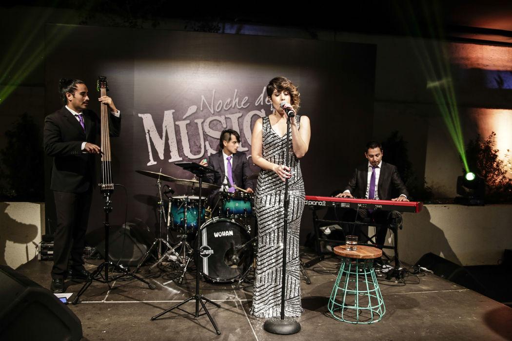Cuarteto jazz vintage