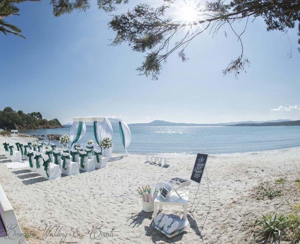 Wedding beach sardinia