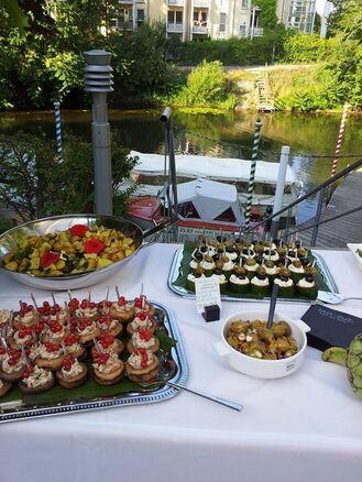 Inn-out Catering leipzig Hochzeit am Wasser