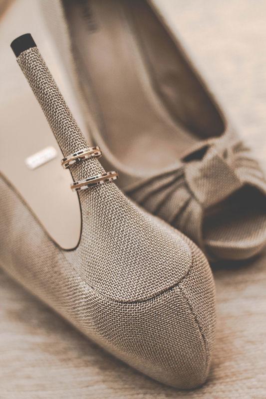 Zapatos de Novia. Detalles de Boda.